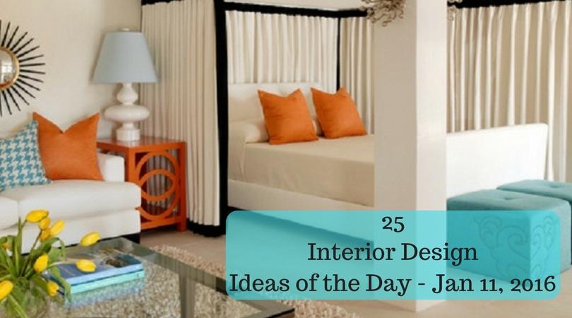 25 Interior Design Ideas of the Day – Jan 11, 2016