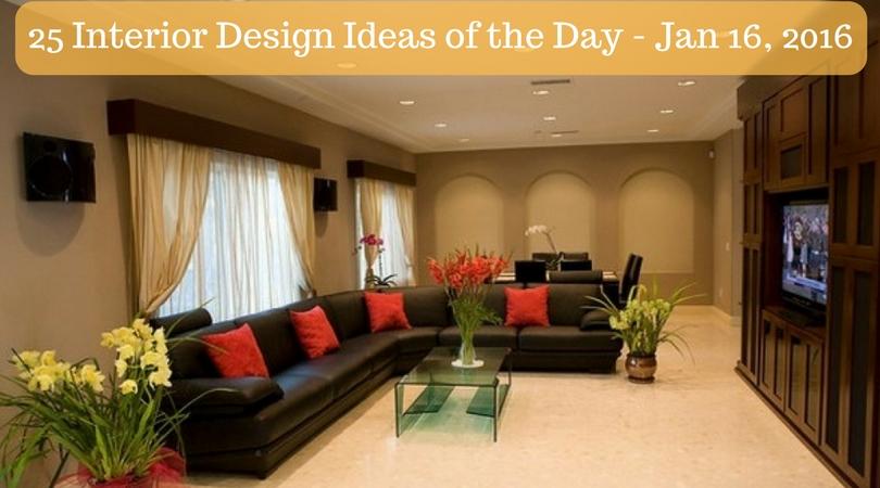 25 Interior Design Ideas of the Day – Jan 16, 2016
