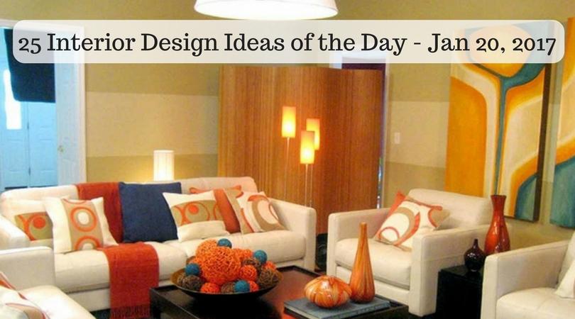 25 Interior Design Ideas of the Day – Jan 20, 2017