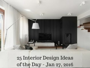 25 Interior Design Ideas of the Day – Jan 27, 2016