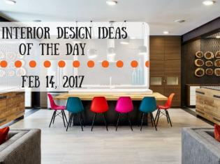 25 Interior Design Ideas of the Day – Feb 14, 2017