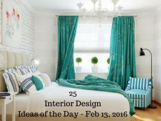 25 Interior Design Ideas of the Day – Feb 13, 2016