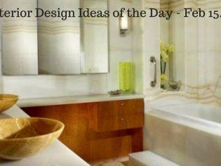 15 Interior Design Ideas of the Day – Feb 15, 2017