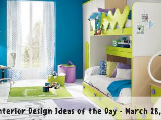 25 Interior Design Ideas of the Day – March 28, 2017
