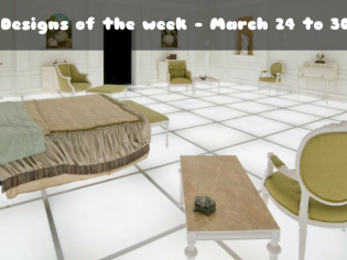 Room Designs of the week – March 24 to 30, 2017