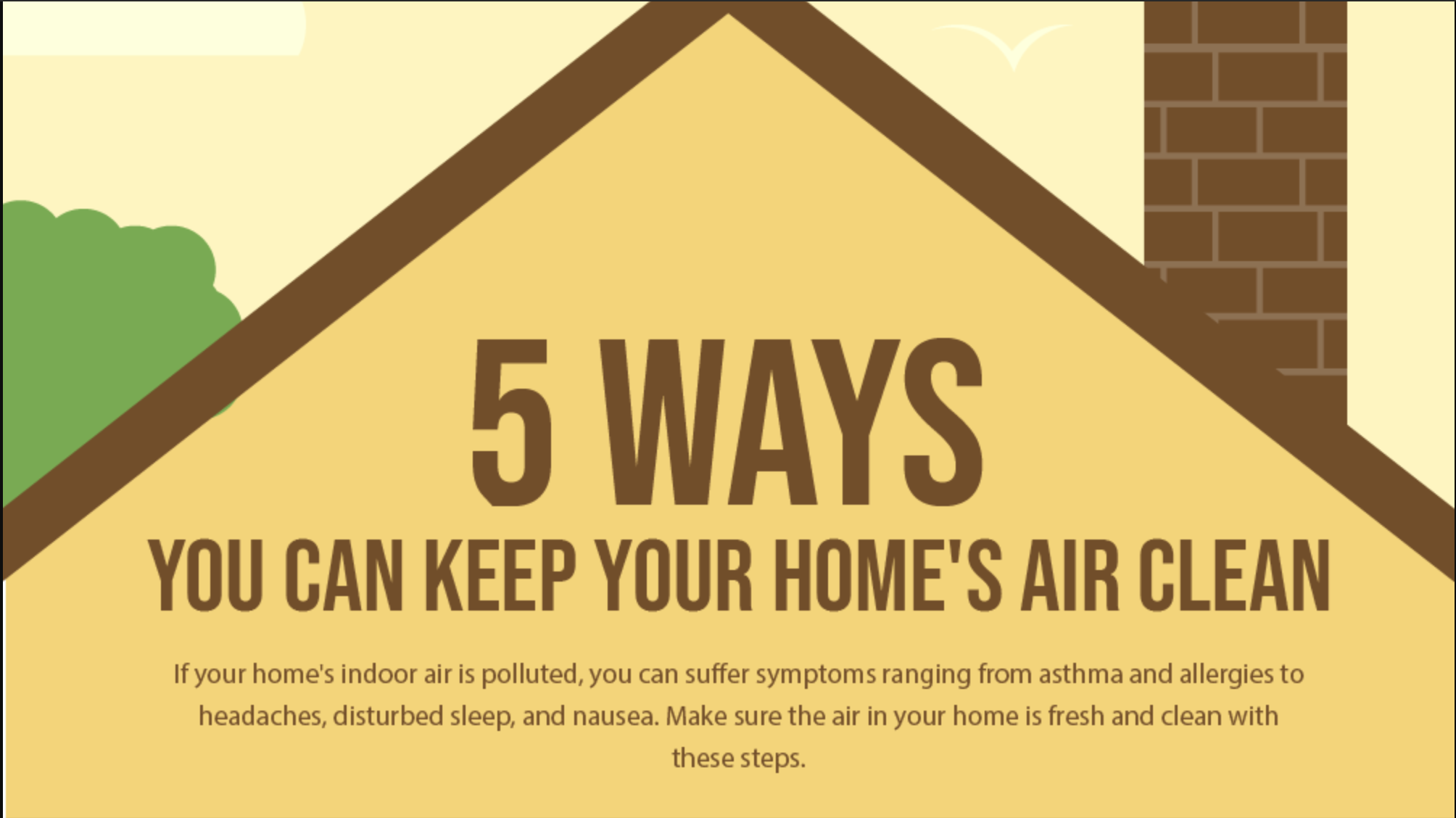 Improving Air Quality in a Home